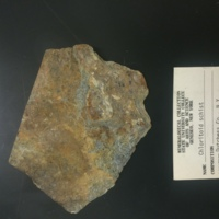 DUCO-7 hand sample of chloritoid schist