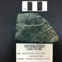 Amphibolite, with some anthophyllite