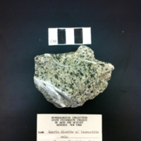 Quartz Diorite with Laumontite Vein