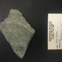 DUCO-2 hand sample of green shale